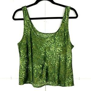 VS PJ Pants Green Set Victoria Secret Pajamas L